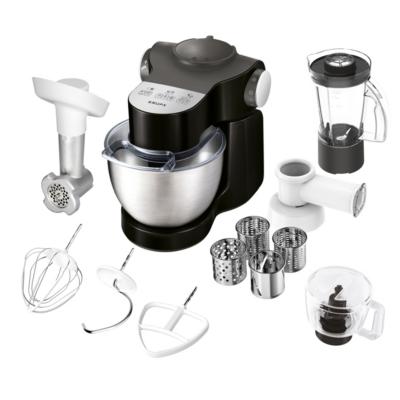 Krups  KA3198 Master Perfect Plus Küchenmaschine 1000 Watt, schwarz | 0010942225553