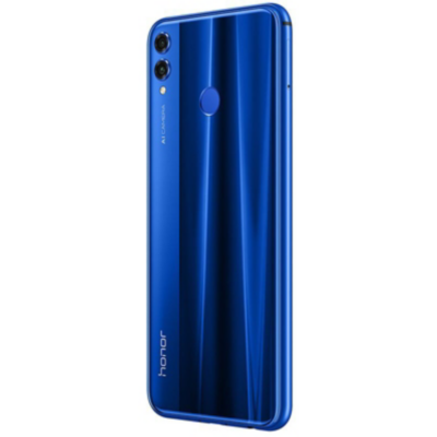 Honor  8X blue 128 GB Android 8.1 Smartphone mit Dual-Kamera | 6901443260935