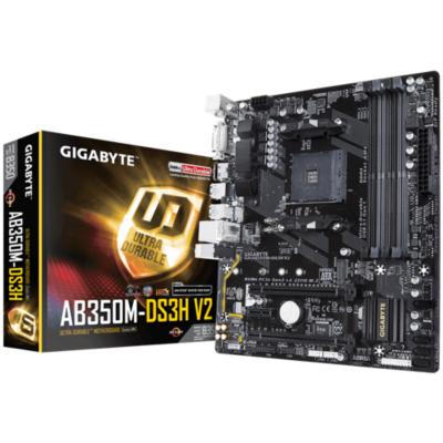 Gigabyte  GA-AB350M-DS3H V2 mATX Mainboard Sockel AM4 GL/M.2/HDMI/DVI | 4719331804824