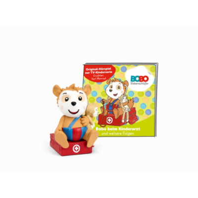 Boxine GmbH Tonies Hörfigur Bobo Siebenschläfer – Bobo beim Kinderarzt | 4251192106643