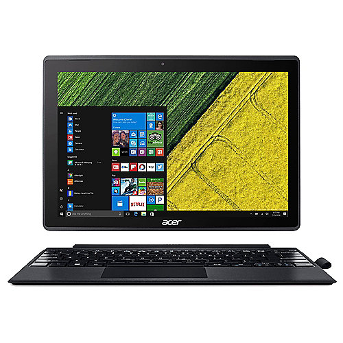 Acer Switch 3 12 IPS FHD 2in1 Touch N4200 4GB/128GB eMMC Win10 S SW312-31-P8VE"