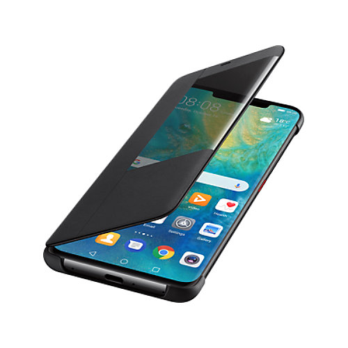 Huawei Smart Flip View Cover für Mate 20 Pro schwarz   6901443252138