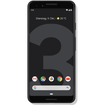 Google  Pixel 3 just black 64 GB Android 9.0 Smartphone | 0842776107633