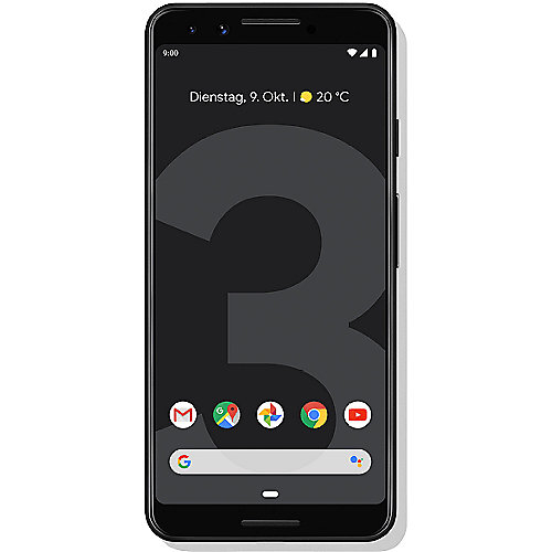 Google Pixel 3 just black 64 GB Android 9.0 Smartphone