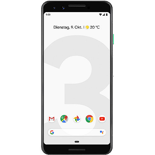 Pixel 3 clearly white 64 GB Android 9.0 Smartphone | 0842776107695