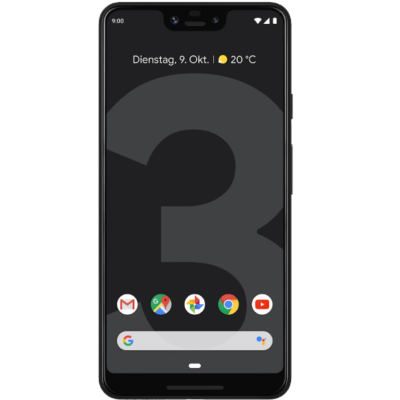 Google  Pixel 3 XL just black 64 GB Android 9.0 Smartphone | 0842776108760