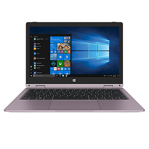 TREKSTOR Yourbook C11B rose-gold 11,6 FHD IPS N3350 4GB/64GB eMMC Win10 S-Modus"
