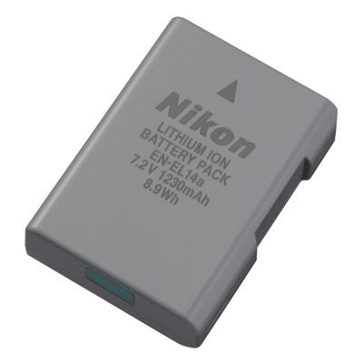 Nikon  EN-EL14a Akku Li-Ion 1230mAh 8,9Wh   0018208271269