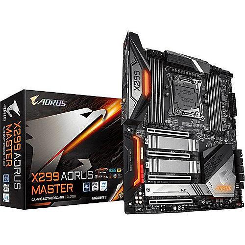 AORUS X299 Master EATX Mainboard 2066 USB3.1(TypC-Gen2)/LAN/3xM.2 | 4719331804817