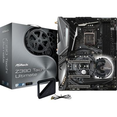 ASRock  Z390 Taichi Ultimate 3xGL/SATA600/M.2/DP ATX Mainboard Z390 Sockel 1151 | 4717677336757