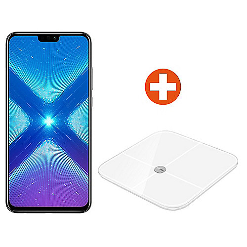 Honor 8X black Android 8.1 Smartphone +Honor Smart Scale AH100