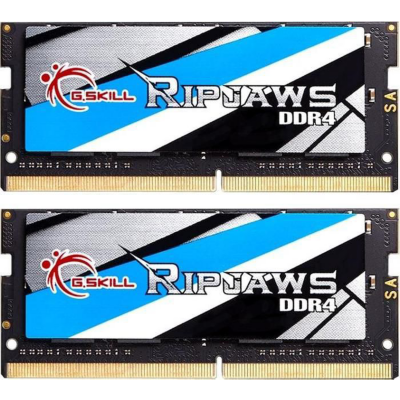 G. Skill 16GB (2x8GB) G.Skill RipJaws DDR4-2400 MHz RAM SO-DIMM CL16 Notebookspeicher Kit | 4719692007667