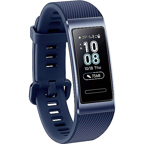 Huawei Band 3 Pro Fitness Tracker blau