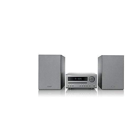 D-T1 FM/CD Receiver, Bluetooth, inkl. Lautsprecher, grau/grau   4951035066676