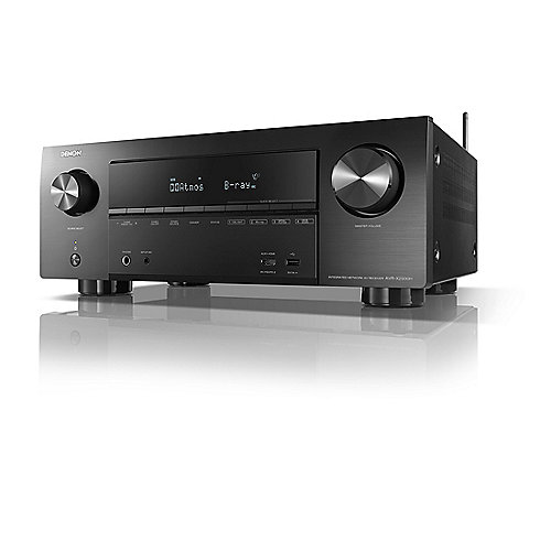 denon avr x2500h 7 2 av receiver schwarz 4k dlna bt wlan. Black Bedroom Furniture Sets. Home Design Ideas