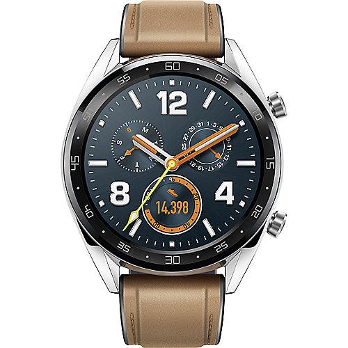 Huawei Watch GT Smartwatch braun   6901443262588