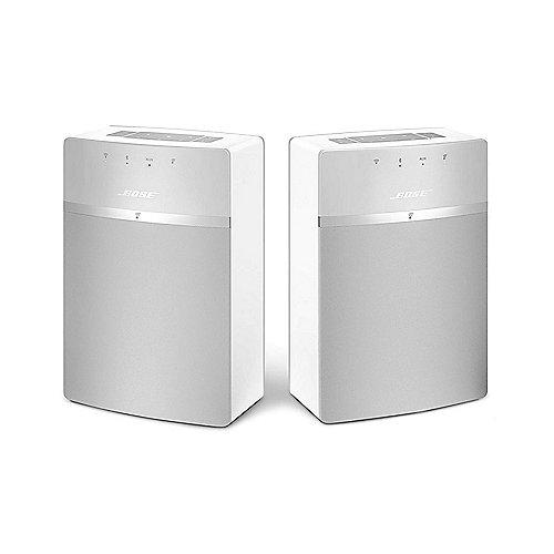 BOSE SoundTouch 10 Weiß Netzwerk Lautsprecher Doppelpack | 0017817752671