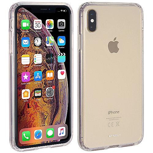 StilGut Bumper Hybrid Clear Case für Apple iPhone XS MAX transparent B07HNY4T9T auf Rechnung bestellen