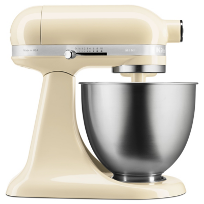 KitchenAid  5KSM3311XEAC Küchenmaschine 3.3L MINI 250W Creme | 5413184120818