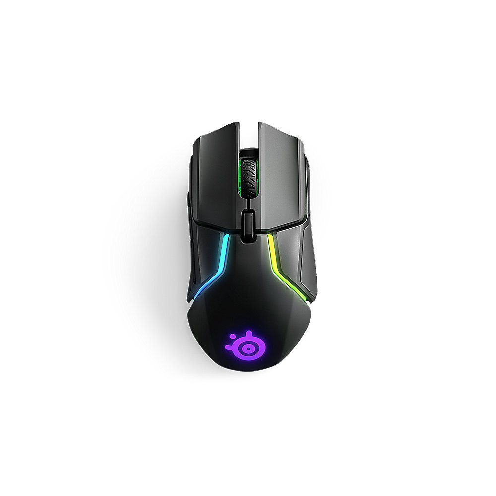 SteelSeries Rival 650 Gaming Maus schwarz