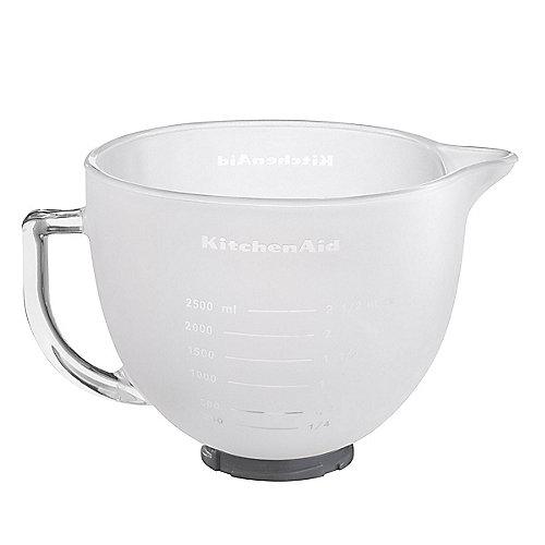 KitchenAid 5K5GBF Milch-Glasschüssel  4,8 L Silikondeckel für Küchenmaschine | 5413184690014