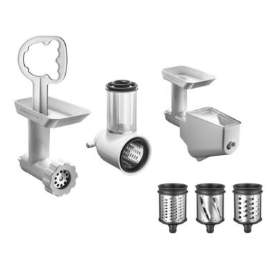 KitchenAid  5KSMFPPC 3tlg Zubehör-Set (5KSMVSA+FGA+FVSP) alle Küchenmaschinen | 5413184403027