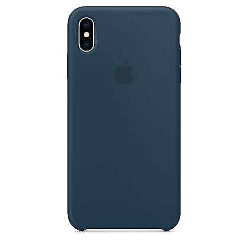 Apple Original iPhone XS Max Silikon Case Pazifikgrün auf Rechnung bestellen
