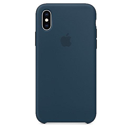 Apple Original iPhone XS Silikon Case Pazifikgrün auf Rechnung bestellen