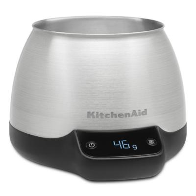 KitchenAid  KCG0799SX Waage für Kaffee, mit Gefäß | 5413184701833
