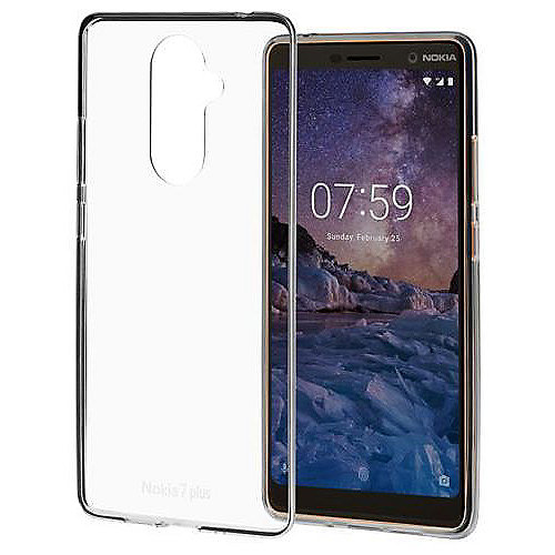 Nokia 7 Plus - Premium Clear Case CC-708, Transparent