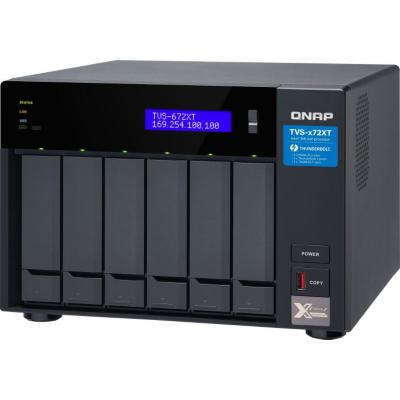 QNAP  TVS-672XT-I3-8G NAS System 6-Bay | 4713213514535