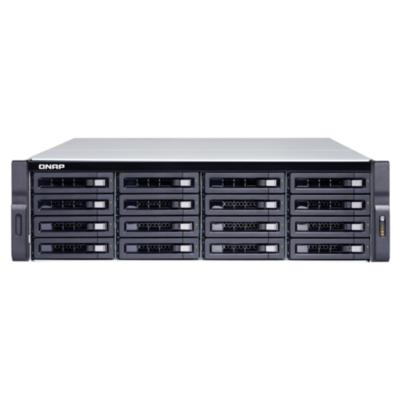 QNAP  TVS-1672XU-RP-i3-8G NAS System 16-Bay | 4713213514672