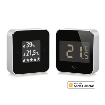 Elgato Apple HomeKit Wetter-& Raumklimabundle mit Eve Room and Eve Degree   4260195391673