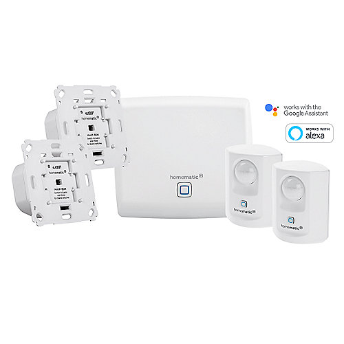 Homematic IP - Smartes Beleuchtungs Set - Markenschalter
