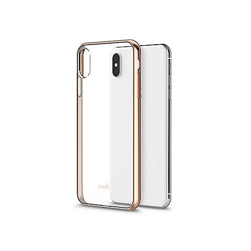 Vitros Schutzhülle für iPhone Xs Max Champagne Gold 99MO103302 | 4713057255823