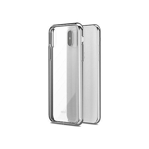 Vitros Schutzhülle für iPhone X Jet Silver 99MO103201 | 4713057252686