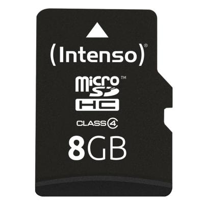 Intenso  8 GB microSDHC Speicherkarte (21 MB/s, Class 4)   4034303010707