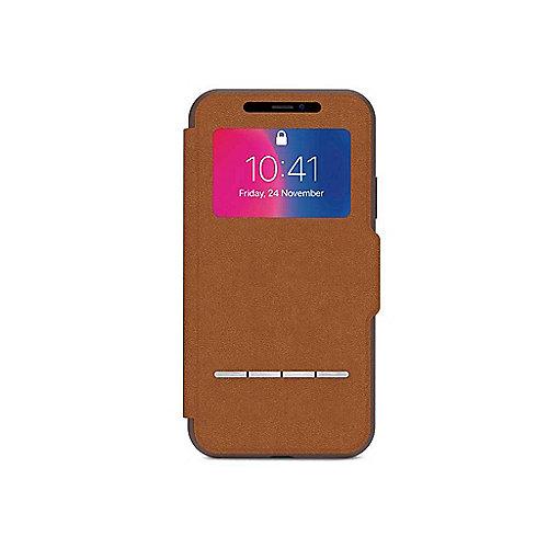 SenseCover Schutzhülle für iPhone X Caramel Brown 99MO072731 | 4713057252495