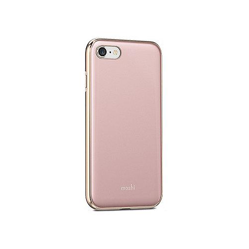 iGlaze Schutzhülle für iPhone 7/8 Taupe Pink 99MO088305 | 4713057253676