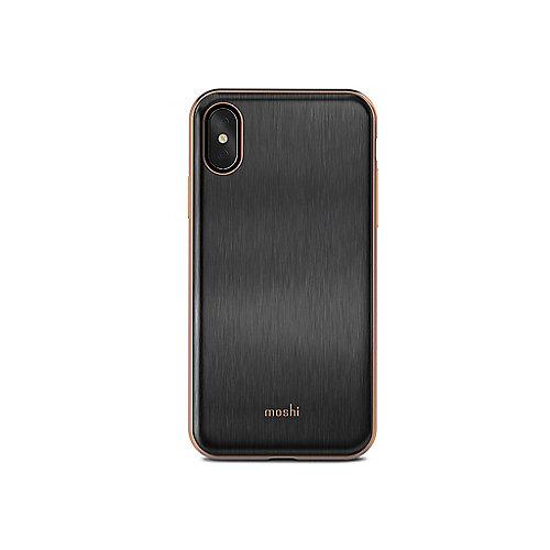 iGlaze Schutzhülle für iPhone X Imperial Black 99MO101001 | 4713057252532