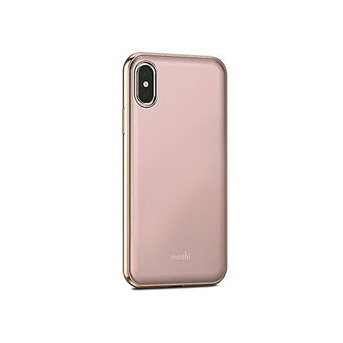 iGlaze Schutzhülle für iPhone X Taupe Pink 99MO101301 | 4713057252549