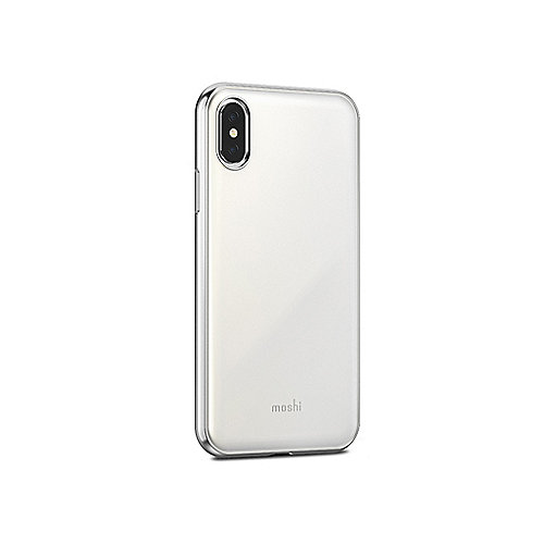 iGlaze Schutzhülle für iPhone X Pearl White 99MO101101 | 4713057252525