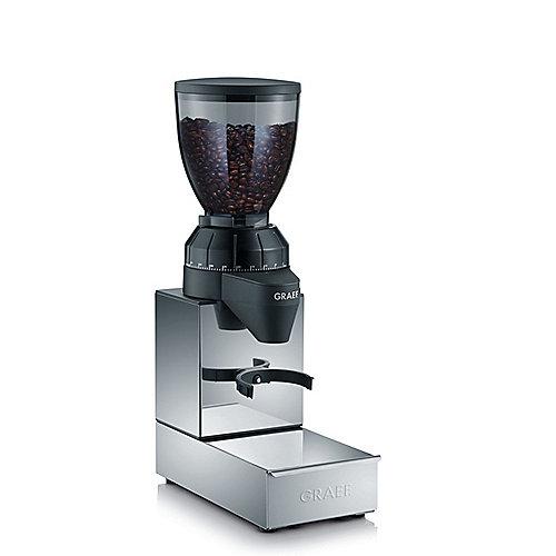 Graef CM 850 Kaffeemühle mit integrierter Sudschublade, Edelstahl Kegelmahlwerk | 4001627016395