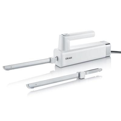 Graef  EK 501 Elektromesser mit 2 Messern, weiß | 4001627016326