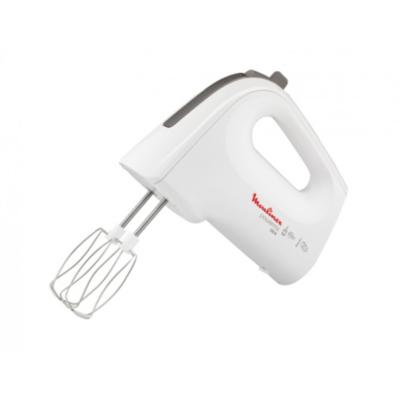 Moulinex  HM6121 Powermix Deluxe Edelstahl Handmixer 500W weiß | 3045388112560
