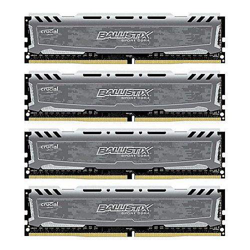 32GB (4x8GB)  Sport LT DDR4-2400 CL16 (16-16-16) RAM Kit | 0649528771346