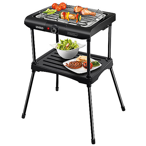 Unold 58550 Barbecue-Grill Black Rack | 4011689585500
