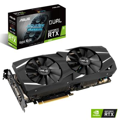 Asus  GeForce RTX 2060 Dual Adv. 6GB GDDR6 Grafikkarte 2xDP/2xHDMI/DVI | 4718017220538