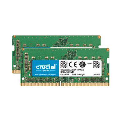 Crucial 16GB (2x8GB)  DDR4-2400 CL17 PC4-19200 SO-DIMM für iMac 27″ 2017 | 0649528783301