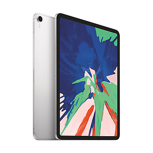 "Apple iPad Pro 11"" 2018 Wi-Fi + Cellular 256 GB Silber MU172FD/A"